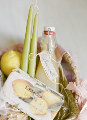 Italy Wedding Gift Basket