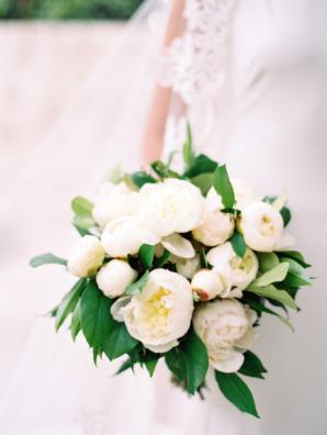 Ivory Peony Bouquet