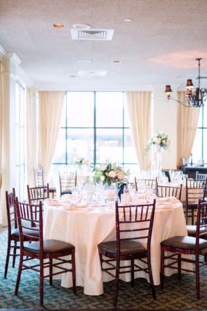 Ivory and White Country Club Wedding