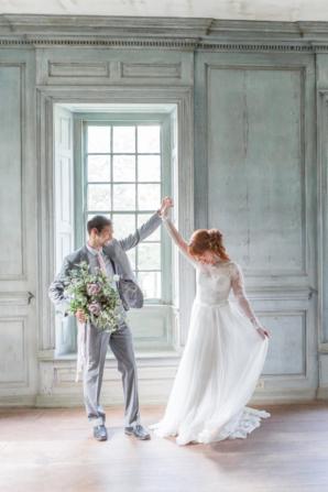 Vintage Virginia Wedding Inspiration Kir Tuben 4
