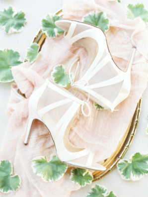 White Bride Boots