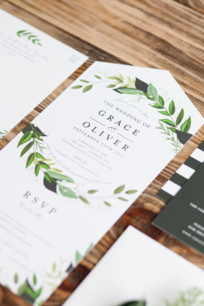 All In One Invitations from Minted