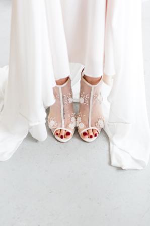 Bride in Booties