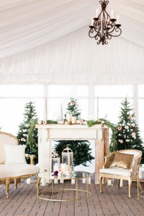 Christmas Wedding Lounge Area