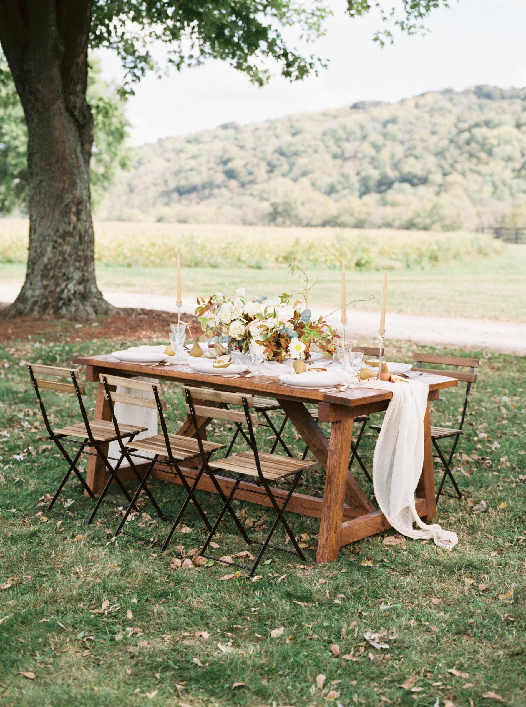 Fall Elegant Wedding Table Elizabeth Anne Designs The