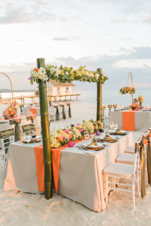 Glam Beach Wedding Reception Sandals
