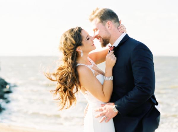Glamorous Maryland Winter Wedding Molly Lichten 1