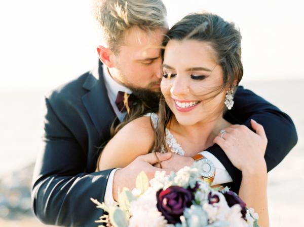 Glamorous Maryland Winter Wedding Molly Lichten 3