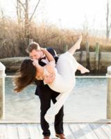 Glamorous Maryland Winter Wedding Molly Lichten 6