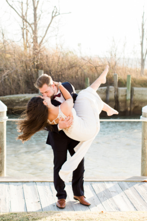 Glamorous Maryland Winter Wedding Molly Lichten 6
