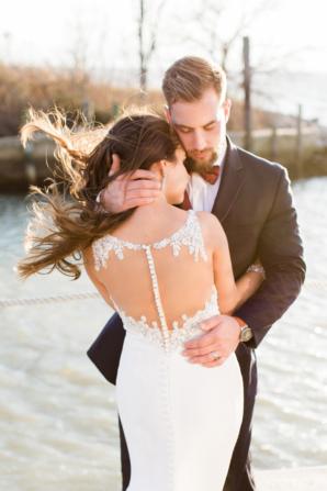 Glamorous Maryland Winter Wedding Molly Lichten 8