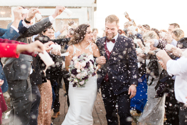 Glamorous Maryland Winter Wedding Molly Lichten 9