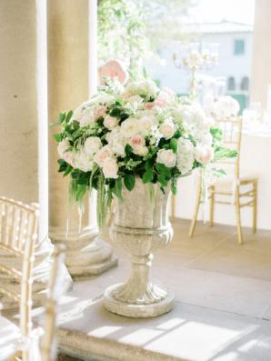 Large Wedding Arrangement in Urn