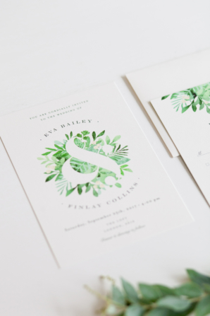 Leafy Ampersand from Minted