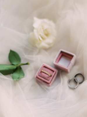 Mauve Ring Box