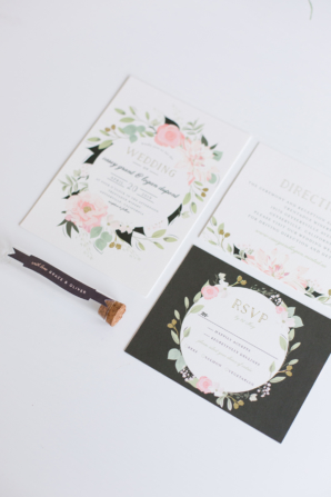 Petal Surround Invitations from Minted