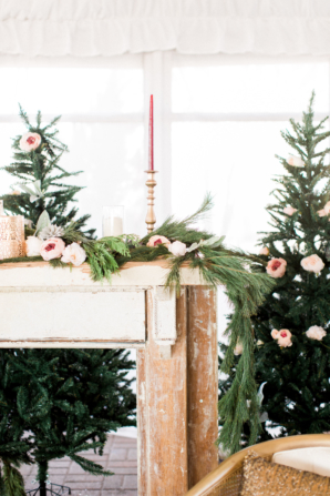 Pine Wedding Decoration