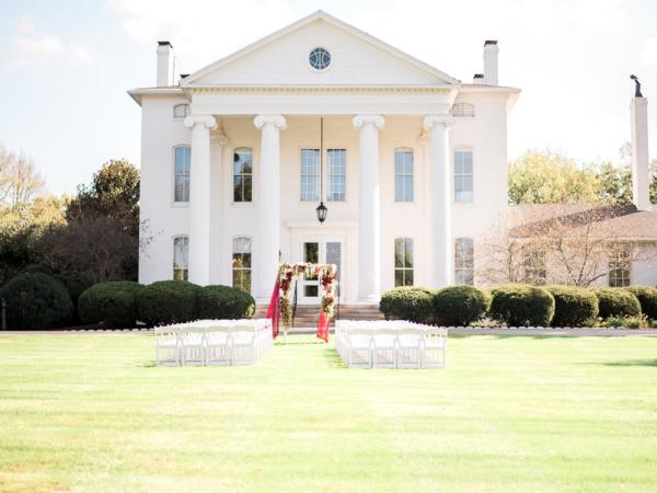 Romantic Lexington KY Wedding Justine Wright 1