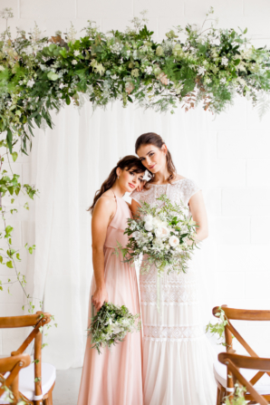 Romantic Organic Wedding Inspiration