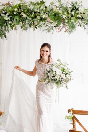 Seventies Influence Bride