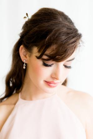 Soft Pink Bridesmaid Makeup