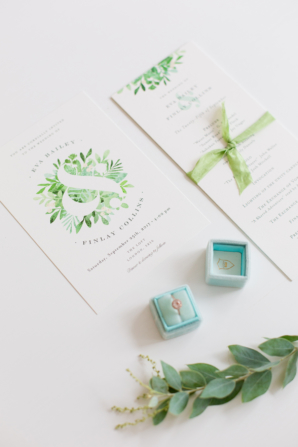 Watercolor Botanical Wedding Invitations from Minted