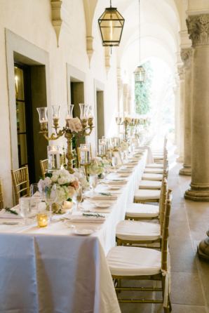 Wedding Table on Portico