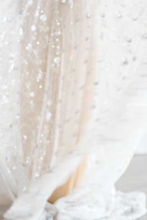 Beaded Bridal Gown on Film