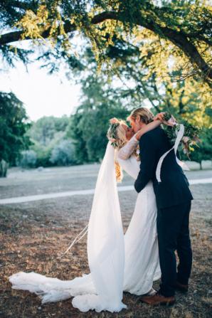 Boho French Riviera Wedding 4