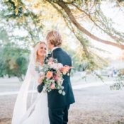 Boho French Riviera Wedding 5