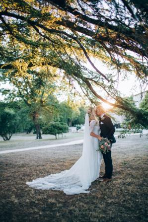 Boho French Riviera Wedding 7