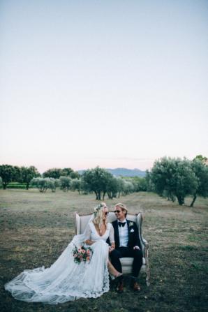 Boho French Riviera Wedding 9