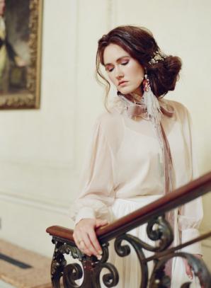Bride in Couture Fashion