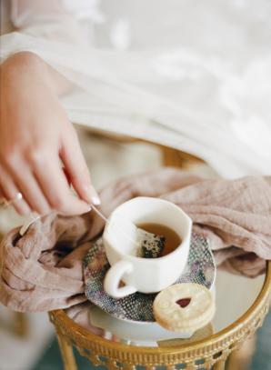 Bride with Tea
