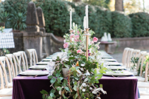Kings Table at Outdoor Wedding