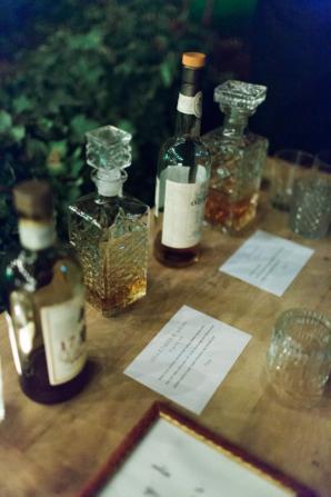 Liquor Tasting at Wedding
