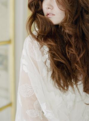 Loose Wavy Hair for Bride