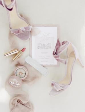 Mauve Bridal Accessories