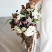 Organic Autumn Bouquet with Protea