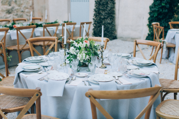Outdoor Wedding Reception in South of France