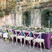 Outdoor Wedding with Greenery