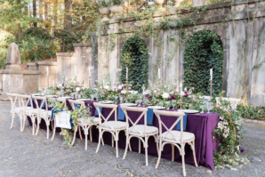 Outdoor Wedding with Greenery