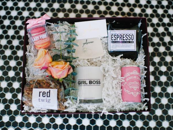 Girl Boss Gift Basket