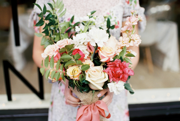 Pink and Ivory Bouquet
