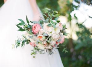 Romantic Pastel Garden Bouquet