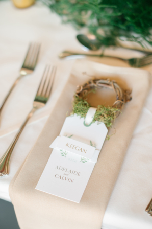 Wreath Place Card