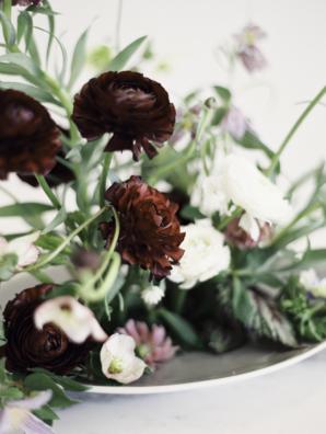 Burgundy Wedding Flowers