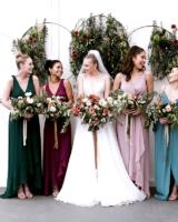 Davids Bridal Jewel Tone Bridesmaids Dresses
