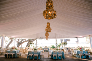 Gold Tent Chandeliers