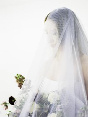Modern Ikebana Maine Wedding Inspiration 2